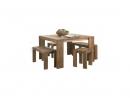 Jedalenský stôl z teakového dreva