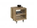 Príručný stôl z masívu (teakové drevo)