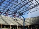 Realizácia prác na stavbe - Rekonštrukcia zimného štadiónu